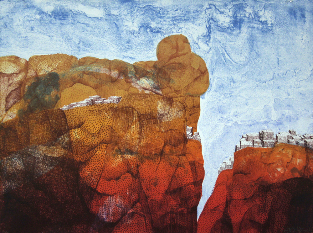 Cynthia Brinich-Langlois, Rocks and Houses